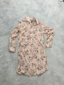 Nearly new size 10 new look long shirt