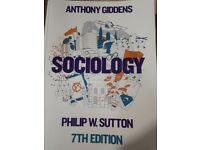 SOCIOLOGY, A. Gidden and P.W. Sutton 7TH EDITION