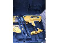 Dewalt battery nailer