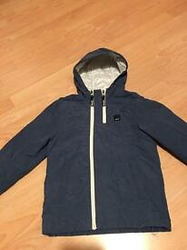 Navy jacket by Bench 9-10 yrs
