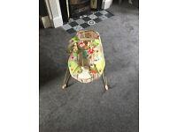 Fisher price rainforest bouncy chair 0-6 momths
