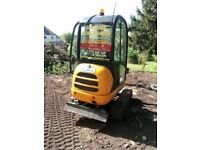 SUPERIOR MINI DIGGERS** MINI DIGGER AND DRIVER HIRE FROM £225.00 PER DAY**