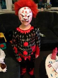Clown fancy dress outfit kids