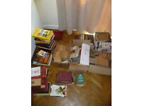 Lage amount of books,mostly new or in good condition.