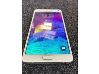 SAMSUNG GALAXY NOTE 4 UNLOCKED TO ALL NETWORKS