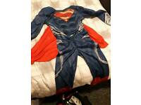 Superman fancy dress outfit 7-8 bargain at £3.00