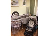 Graco 3 in 1 Pushchair and Pram