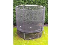 Rebo 8ft Trampoline with Safety Enclosure