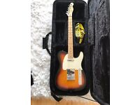 Fender Telecaster Mexican 2003 immaculate with hard case. Never gigged hardly played. !