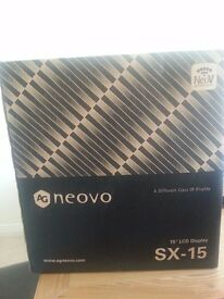 """BRAND NEW - AG Neovo SX 15A 15"""" LCD Monitor cctv/security"""