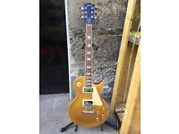 2001 Gibson Les Paul Standard Electric Guitar - Gold Top - OHSC