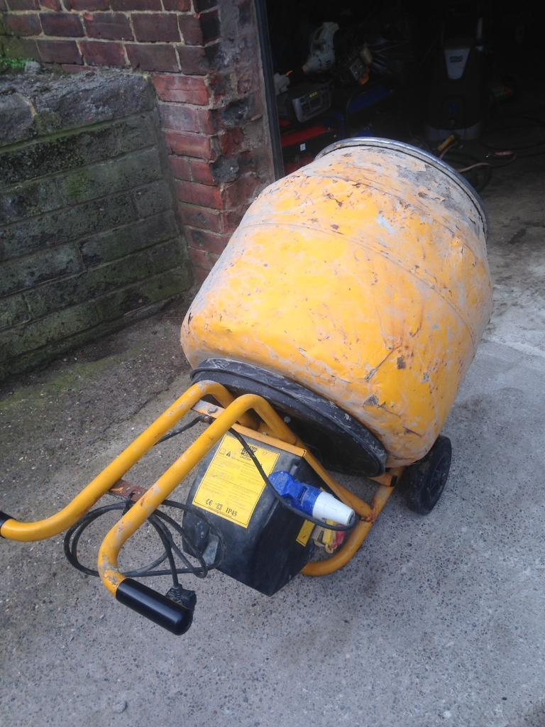 240v master mix 130 cement mixer