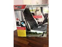 Ultimate speed heated massage cushion! Brand new!