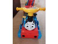Ride on Thomas Tank Engine and Track (used)