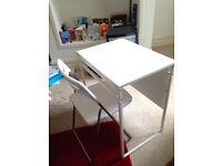 IKEA folding desk & chair