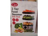 3tier food steamer!