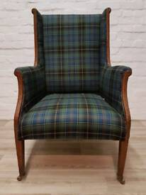 Edwardian Armchair (DELIVERY AVAILABLE FOR THIS ITEM OF FURNITURE)