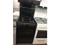 55CM BLACK EYE LEVEL GAS COOKER