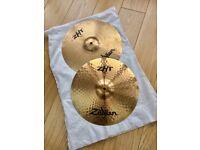 Zildijian ZHT Hi Hat Cymbals.