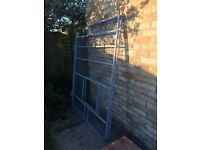 Fiat Dicato roof rack with ladders