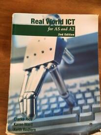 ICT Text books for AS or A level studies.