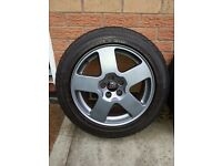 AUDI 16inch Alloys and Pirelli P6000 Tyres