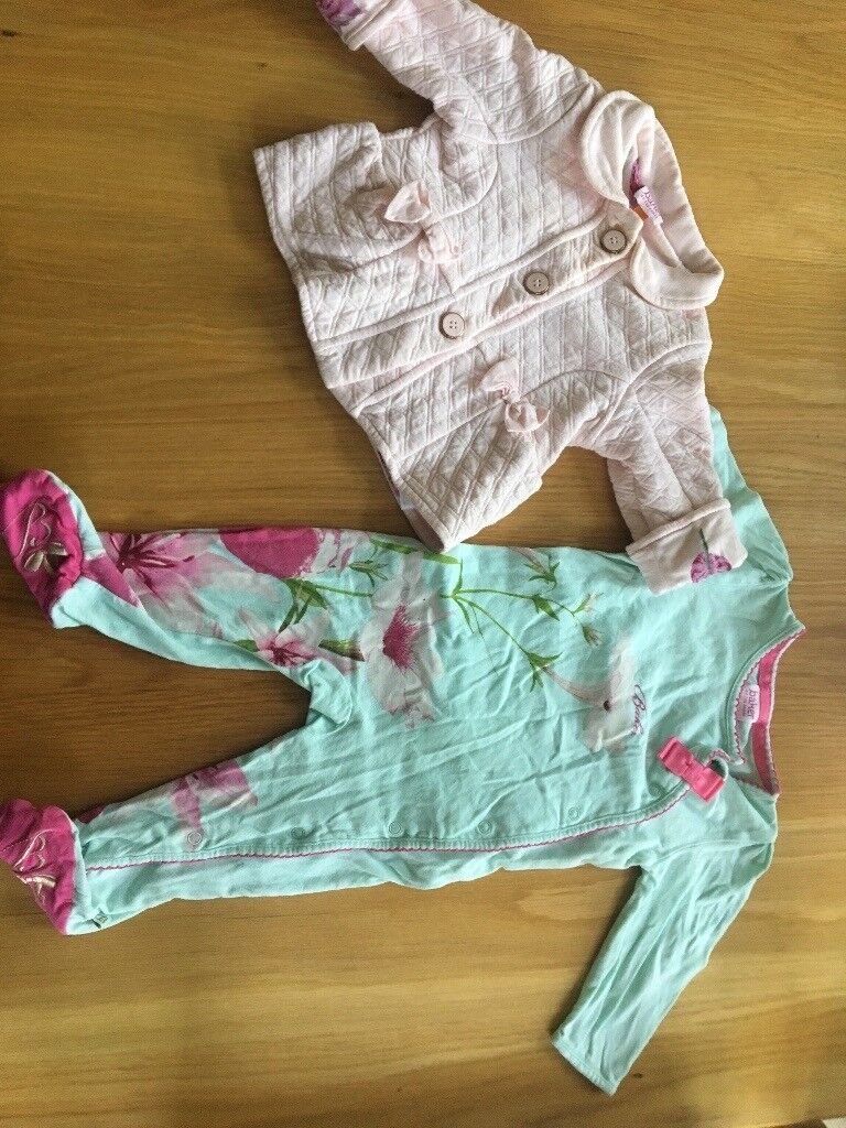 f09400a7250187 Ted baker baby girl 6-9 months bundle