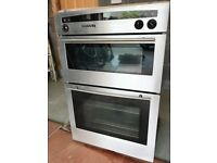 Neff Built in double oven.