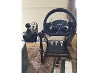 Logitec G27 simulator rig/ Sparco & prodject cars software