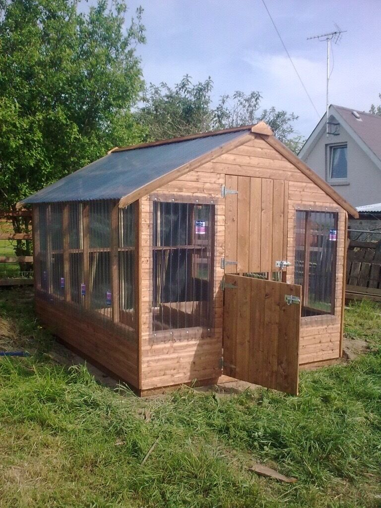 top quality wooden greenhouses delivered set up anywhere in ni garden shedgreen house - Garden Sheds Ni
