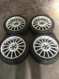 Vw Audi rover alloy wheels 5x100 18inch