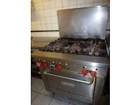 Used commercial cooker for restaurant