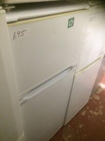 HOTPOINT fridge freezer £85 fully working