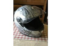 Shark motorcycle crash helmet
