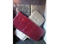 Dimond studded velvet headboards