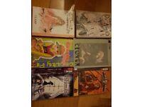Large selection of manga for sale