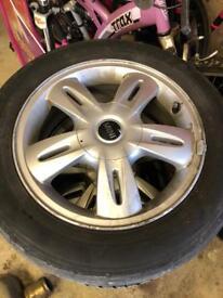 "Mini 15"" Alloy wheels"