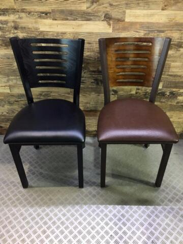 Chaises tables banquettes base de table de restaurant bar bistro - Table bar industriel ...