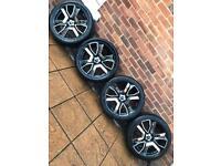 "5x120 20"" Rare PDW Transformer alloy wheels VW T5 T6 BMW 3 5 7 series Vauxhall Insignia"