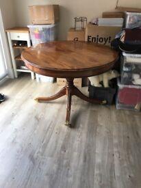 Dinning Table (Solid Mahogany)