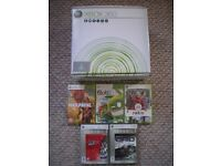 XBOX 360 Console 60GB Boxed with Games