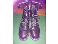 Dr Martens made in england boots .