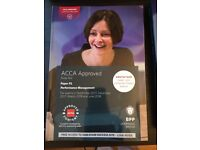 ACCA F5 Performance Management book