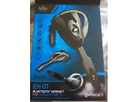 Gioteck Bluetooth headset. PS3 compatible, Smartphone compatible. Used once! Like new!