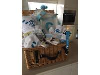 Personalised hoodies , t shirs baby boxes , water bottles , bibs , dummys