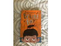 Kids book beetle boy