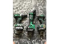 Hitachi 3 pcs set