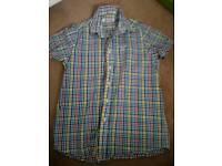 Babour check shirt age 10-11