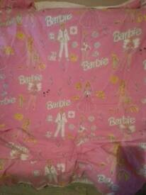 Barbie single bed covers