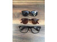 Set of 3 Rayban Sunglasses